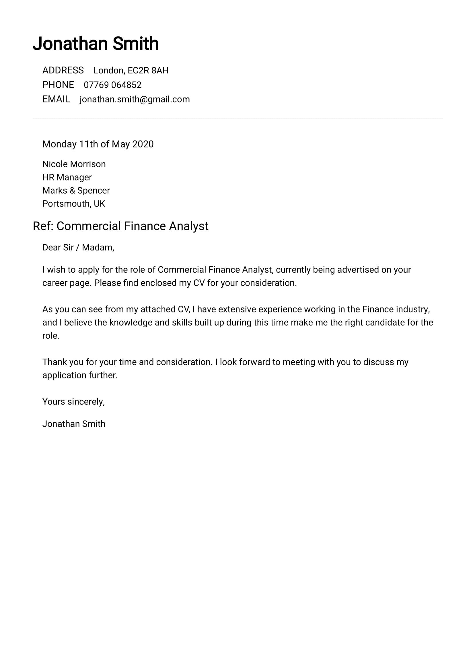Totally Free Cover Letter Builder No Signup Cvscan